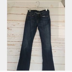 7 For All Mankind Flynt Bootcut Jeans Sz 27 EUC